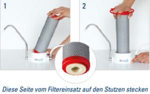 Filtereisatz Stutzen